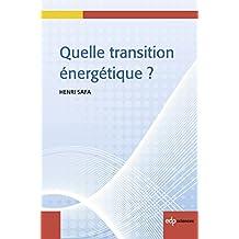 Quelle transition énergétique