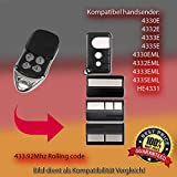 4330E, 4332E, 4333E, 4335E,4330EML, 4332EML, 4333EML, 4335EML,HE4331 kompatibel Sender Replacement der Fernbedienung, 433.92MHz Rolling Code