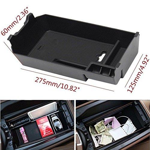 Aufbewahrungsbox Organizer Mittelkonsole, für Armlehne C-Klasse C180 C200 C260 2015-2017 Automatik C300 Usb