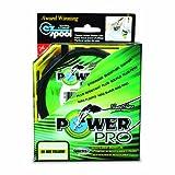 PowerPro Spectra Faser Geflochtene Angelschnur, Unisex, 21100100300Y, Neongelb
