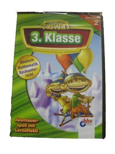 Galswin Version 2: 3. Klasse, 1 CD-ROM Deutsch, Mathematik, Sachunterricht. Für Windows 98/Me/XP. Abgestimmt auf die offiziellen Lehr- u. Bildungspläne. (Englisch, Deutsch, Spanisch, Französisch)
