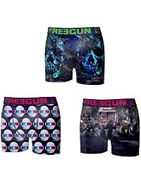 Freegun Lot 3 Boxers Homme fg23