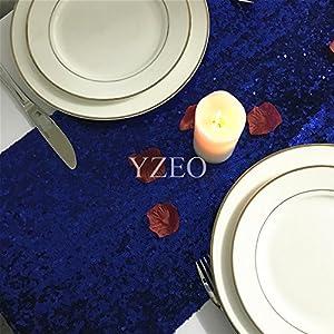 YZEO Lentejuelas Centro de Mesa para Boda Fiesta Evento hogar Banquete, tamaños Colores Opcional, Materiales sintéticos…