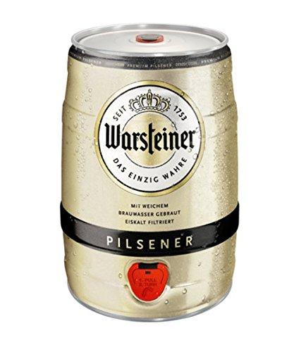 Warsteiner Pils (1 x 5 l) inklusive Zapfhahn - 2