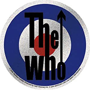Buy licenses products the who target glitter sticker for Amazon gelbsticker