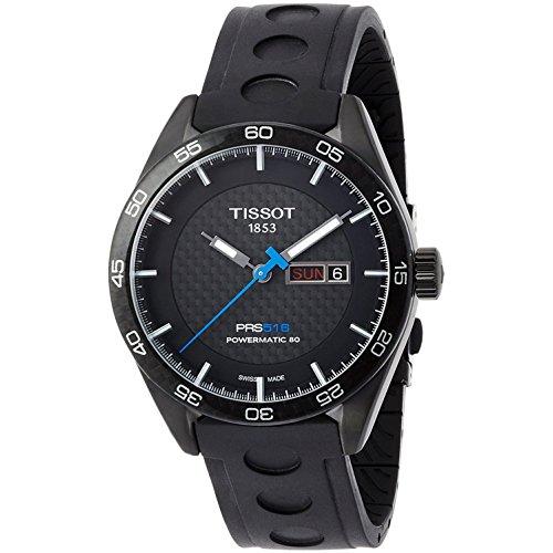Tissot Armbanduhr PRS516Automatik Armbanduhr mechanische Power Automatik Matic 80montiert t1004303720100Herren-Armbanduhr