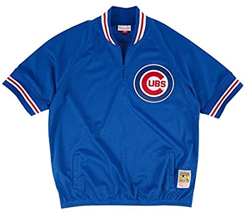 Chicago Cubs Mitchell & Ness MLB Authentic 1/4 Zip 1991