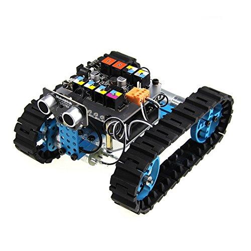 Makeblock V2.0Starter Kit de Robot con electrónica, Color Azul