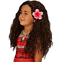 Rubie's Official Disney Moana Wig with Flower Costume Accessory