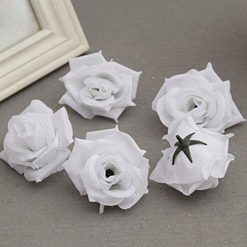 �lschte künstliche Seide Rose Köpfe Blütenknospen DIY Bouquet Startseite Hochzeit Handwerk Dekor liefert (Diy Hochzeit Bouquet)