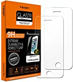 Spigen®[2-Pack]iPhone SE/5S/5 Screen Protector,[FREE Install Wings] Premeium Ver.[Case friendly] [Tempered Glass] iPhone SE/5S/5 Screen Protector (SGP10111)
