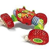 Nlatas Coche de Control Remoto Off-Road Escala 1:16 4WD 2.4GHz Coche de Carreras Eléctrico Coche RC Buggy Crawler Toy Car para Adultos y Niños,Red