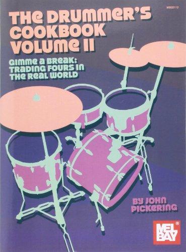 Drummer's Cookbook Volume 2: Buch für Schlagzeug