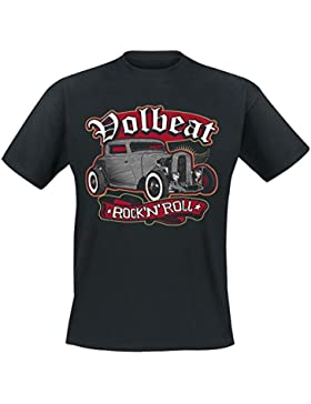Volbeat Rock'N'Roll T-Shirt schwarz