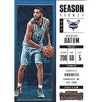 2017–18Dépasse Panini Season Ticket # 97Nicolas Batoum Charlotte Hornets Basketball carte