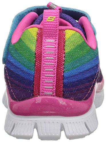 Skechers Skech Appeal Perfect Picture, Scarpe pe Bambine e Ragazze Multicolore (Mlt - Multi)