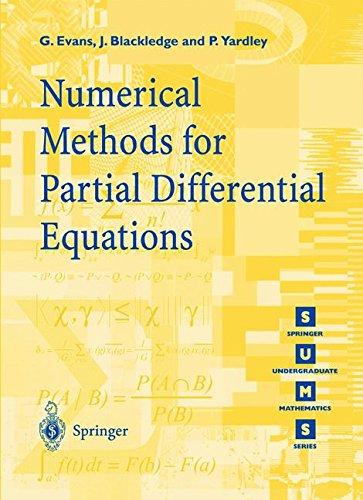 Numerical Methods for Partial Differential Equations par G. Evans