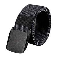 حزام خصر من النايلون للجنسين اسود 49 Inch
