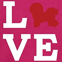 Love Bichons Frise Dog Silhouette - Kids Sweatshirt / Sweater - 8 Colours