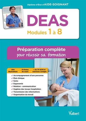 DEAS - Modules 1 à 8 - Préparation complète pour réussir sa formation - Diplôme d'Etat d'Aide-soignant par Sylvie Ameline