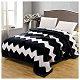 Kuscheldecken HMLIFE Polyester Decke Doppelschicht Verdicken Raschel Schlafzimmer Bettdecke Wohnzimmer Freizeit Decke Vier Jahreszeiten Verfügbar 200 * 230 cm (größe : 175 * 215cm)
