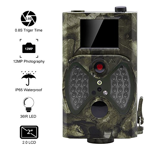 Galleria fotografica Distianet Trail Game Camera Wildlife Hunting Camera with Infrared Night Vision,36pcs 940nm IR LEDs,2.0 inch LCD Screen,IP65 Waterproof