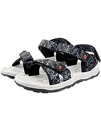 Lotto Men BOLOGNA Black/Grey Sandals 6