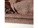 New Hand Woven Harris Tweed 100% Wolle Fischgrätenmuster
