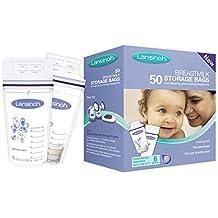 Lansinoh bolsas de almacenamiento de leche (50 bolsas)