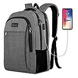 Travel Laptop Backpack,iKuShang Business Anti-Theft College School Backpack for Women & Men