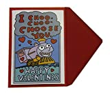 I Choo Choo Choose You Valentine's Day Card - For Boyfriend Girlfriend Husband or Wife
