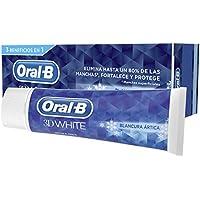 Oral-B 3D White Blancura Ártica Pasta Dentífrica - 4 Recipientes de 75 ml - Total: 300 ml