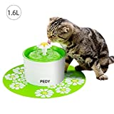 Fontaine à Fleur pour Chat Automatic Electric Flower 1.6 L Distributeur de...