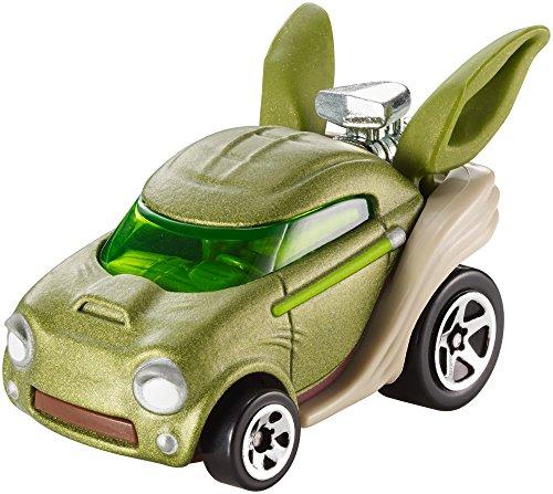 Mattel Hot Wheels DXP54 vehículo de Juguete - Vehículos de Juguete, Coche, Star Wars, Yoda, 3 año(s), 1:64