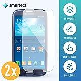 smartect Samsung Galaxy S3/S3 Neo Panzerglas Folie - Displayschutz mit 9H Härte - Blasenfreie Schutzfolie - Anti Fingerprint Panzerglasfolie [2 Stück]