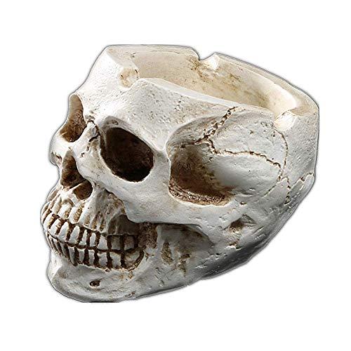 Molinter Cenicero Halloween, Calavera, cráneo, Resina,...