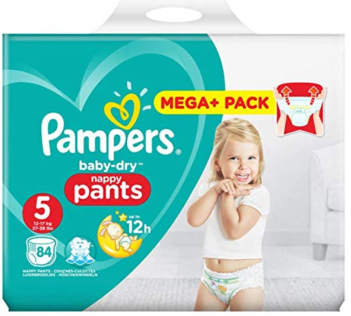 Vente pampers baby drycouches culottes taille 5 pour bbs 1218kg lot de 84 - Couche bebe pour piscine pampers ...