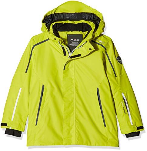 Cmp 38w0234 feel warm flat 3.000, giacca imbottita bambino, limeade, 164