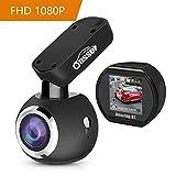 Oasser Autokamera Dashcam Car DVR Video Recorder FHD 1080P 170 ° Weitwinkelobjektiv mit SONY Sensor HD Nachtsicht WDR Bewegungserkennung Parkmonitor und Loop-Aufnahme