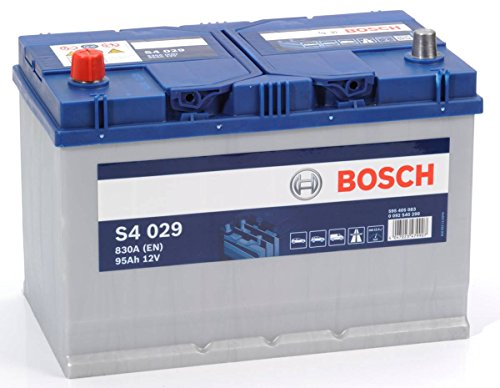 Mazda B Series Un 1999-2006 Bosch S4 Battery 95Ah Electrical System Replace Part