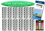 POWERHAUS24 - 120 Testtabletten 60 x pH-Wert Phenol Red und