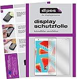 dipos I 2X Schutzfolie klar passend für Lenovo Tab 4 8 Plus Folie Displayschutzfolie