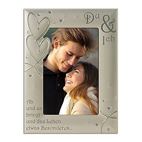 You & Me, Du & Ich, Paar, Romantik, Versilbert, Samt