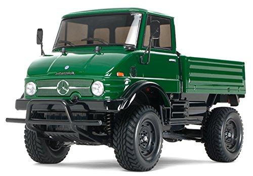 TAMIYA 300058457 - RC Mercedes Benz Unimog 406 CC-01 1:10 (Motor Tamiya 4wd)