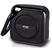 TDK TREK Micro Haut Parleur Stéréo Résistant à l'eau NFC Bluetooth - Noir