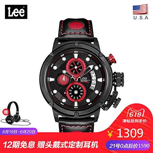 69e2484d0ea7 WATCHES-HAN Relojes para Hombres Impermeable 5 Colores Multifunción  Movimiento Diseño único Relojes de Cuarzo de Moda para Hombres Jóvenes