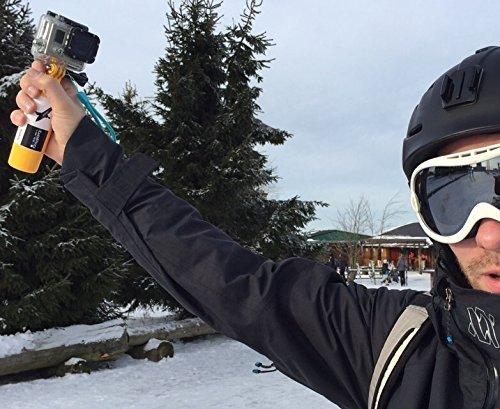 Ski Snowboard Handstativ Auftriebshilfe Handstativ für Rollei Bullet 6S/7S 5s 50s Schwimm- Stativ Handschlaufe -