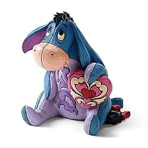 Disney Traditionen Eeyore mit Herz Ballon Figur
