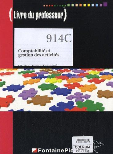 Comptabilité et gestion des activités, Bac Pro, Tle Comptabilité (1Cédérom)