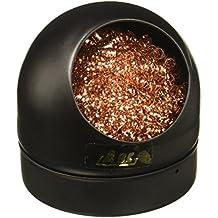 Sourcingmap–® Metal de soldadura de hierro punta soldadura limpiador limpieza alambre Esponja w Soporte